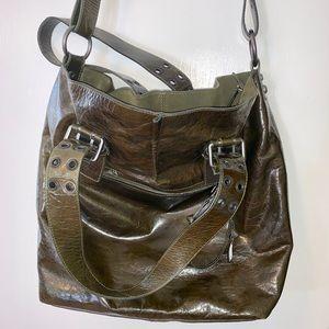 Francesco Biasia Bags - Francesco Biasia Patent leather tote bog
